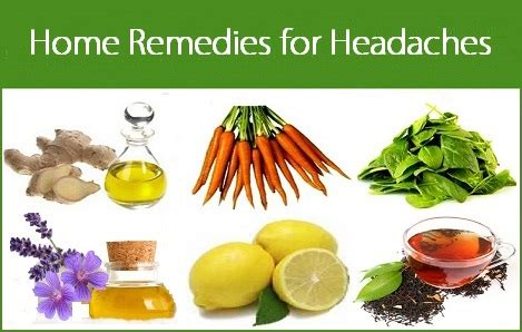 remedies to treat migraine headache at home