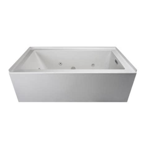 ferguson bathtubs jlns6032wrl2xxww linea 60 x 32 whirlpool bath white