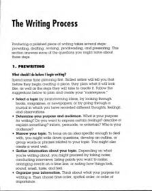 Exles Of Process Essays by Process Of Writing An Essay