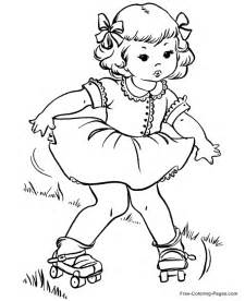 roller skate coloring page summer coloring book pages roller skates 05 coloring