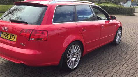 2006 Audi A4 2 0 by 2006 Audi A4 Avant 2 0 Tfsi Quattro S Line Special Edition