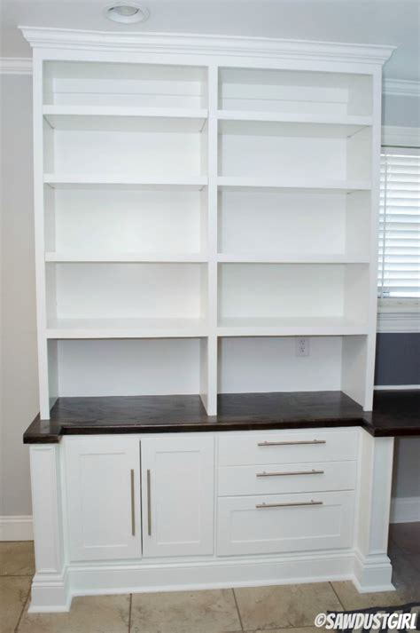 bookshelf with bottom cabinet pdf diy bookshelf cabinet plans download bookcase design