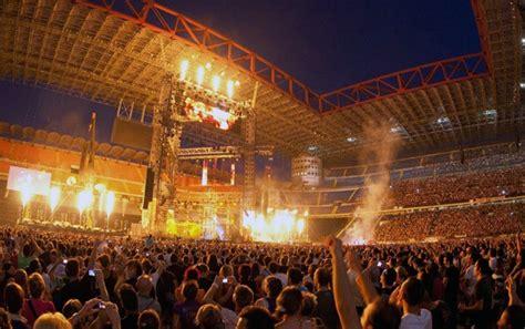 vasco prossimi concerti concerti 2014 san siro probabili one direction ac dc