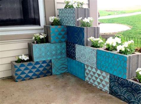 cement home decor ideas 12 great home decorating ideas using concrete blocks