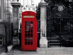 Giant wallpaper wall mural london telephone box vintage british theme