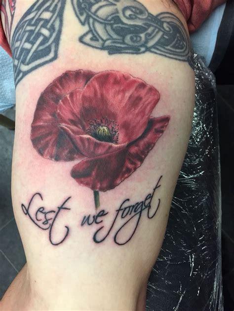 anzac poppy i did today tattoo pinterest anzac poppy