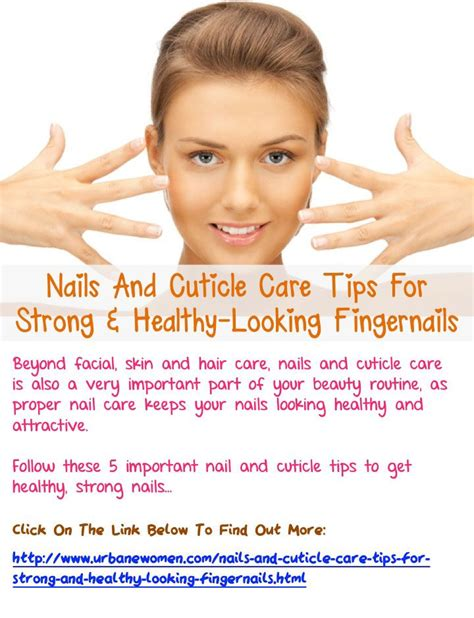 7 Nail Care Tips by 1000 Ideas About Cuticle Care On Nail Care