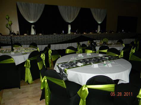lime green weddings   Lime Green, Black & White Weddings