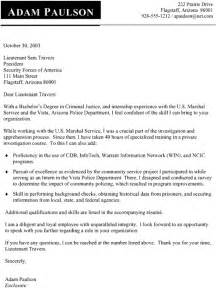criminal justice resume cover letter examples 1 - Criminal Justice Resume