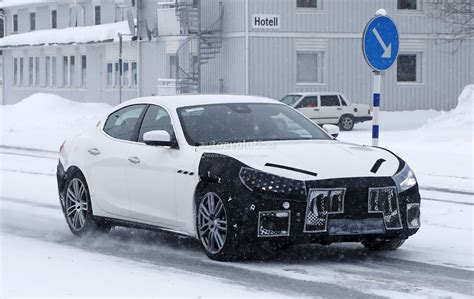 ghibli maserati 2018 2018 maserati ghibli spied in sweden angry look prototype