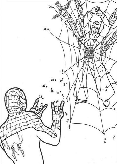 free coloring pages of spiderman