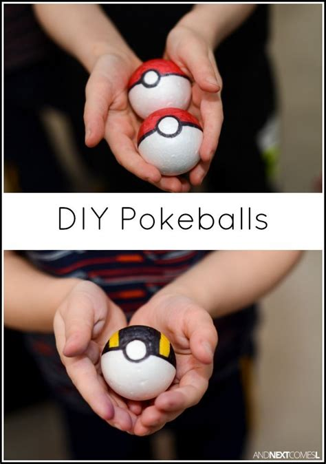 How To Make Pokeballs Out Of Paper - 25 best ideas about craft on