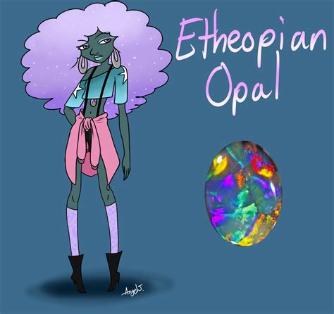 blue opal gemsona gemsona opal adopts 2 opal twiggy by