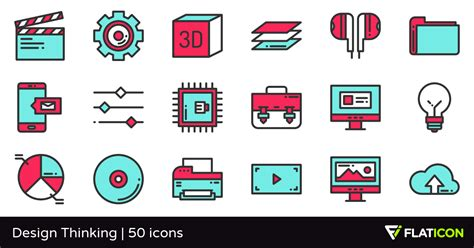 design thinking icon design thinking 50 premium icons svg eps psd png files
