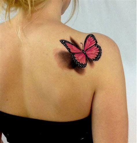 butterfly tattoo on girl s shoulder elegant shoulder tattoos for girls google search