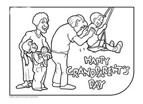 happy birthday coloring pages for grandparents grandparents day images pictures photos quotes and