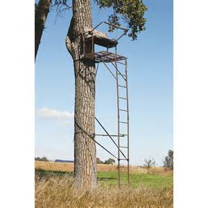tree stand for realtree api 174 18 ultra steel 2 person deluxe ladder tree stand