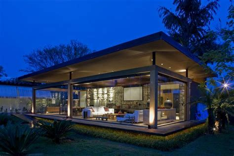glass wall house modern house with open sensation using glass walls loft