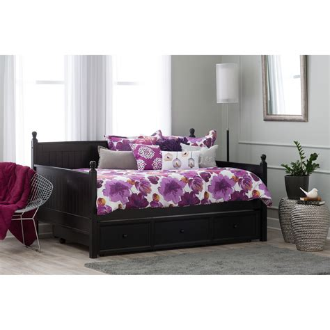 full day bed decosee queen size daybed frame