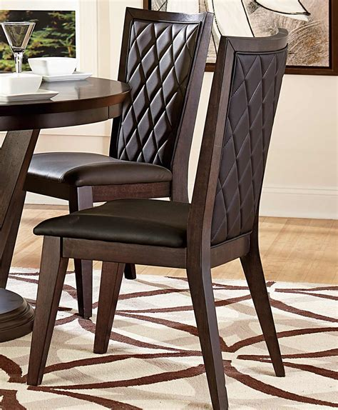 villa vista 5157 54 dining table by homelegance homelegance villa vista side chair walnut 5157s at
