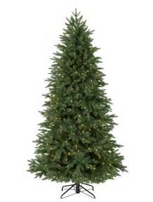 silverado slim artificial christmas tree balsam hill
