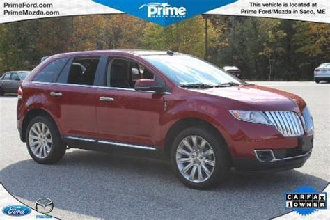 pre owned lincoln mkx for sale lincoln mkx maine cars for sale
