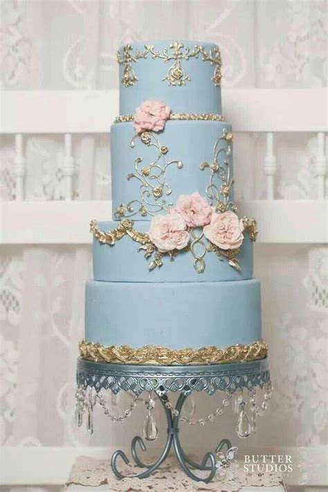 Wedding Cake Blue Bell by Kuchen Feine Torten 2231075 Weddbook