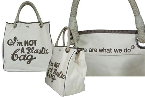 Anya Hindmarch Bag Isnt So Green After All by Eco Trend I M Not A Plastic Bag Inhabitat Green