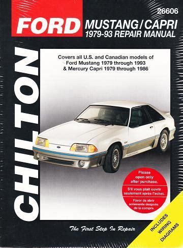 1989 92 car care chiltons ford manual probe repair total 1989 92 car care chiltons ford manual probe repair total
