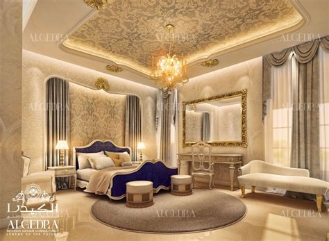 International Interior Design Companies In Dubai by Master Bed Room Design Algedra