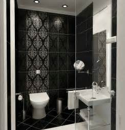 Contemporary Bathroom Tiles Design Ideas by Modern Classic Style Bathroom Black And White Tile Design