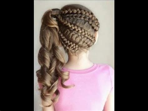 los mejores peinados de fiesta para ni as youtube peinados con trenzas para ni 241 a los mejores peinados