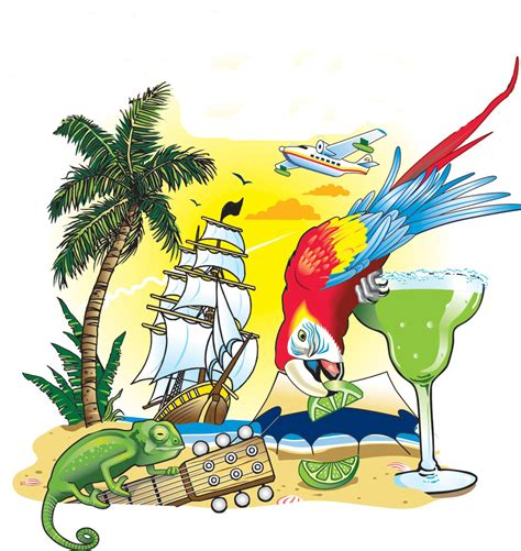 margaritaville cartoon pics for gt jimmy buffett logo