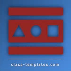 class templates resources for teachers, trainers and