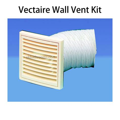 bathroom fan vent kit vectaire wall vent kit uk bathrooms