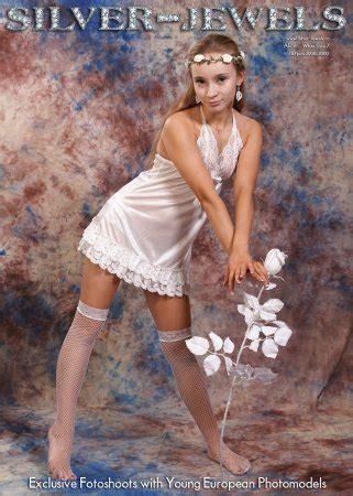 silver stars alice model silver jewels 187 x teenmodels