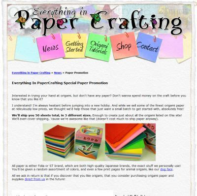 How Much Does Origami Paper Cost - everything in papercrafting free origami paper us