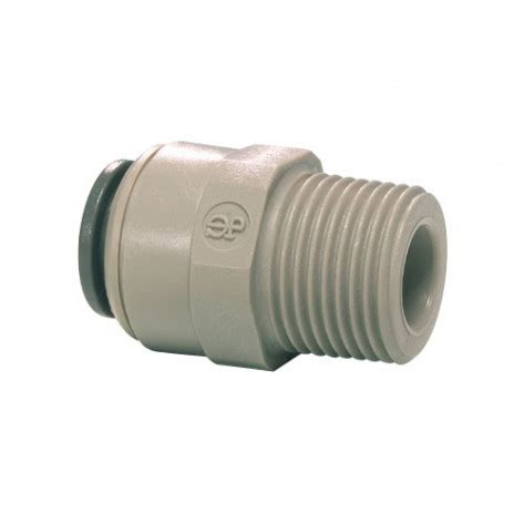"""john guest 1/2"""" push fit to 1/2"""" male screw bspt thread"""