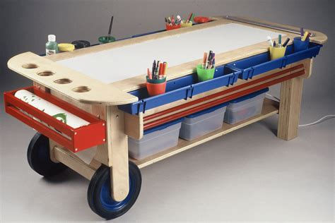 table l with light amazoncom jonti craft large light activity table kitchen