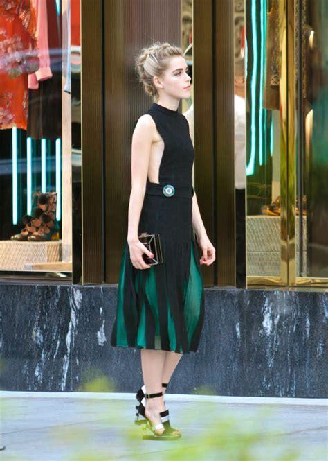Carpets & Candids: Kiernan Shipka's amazing shoes Lainey