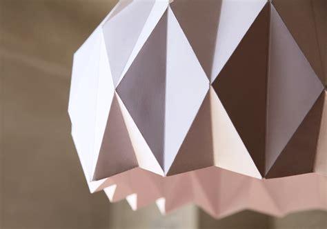 lustre papier japonais tuto origami lustre