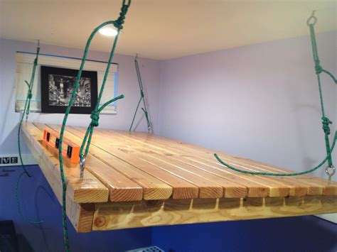 diy hanging bed impatiently crafty diy tutorials and projects for the
