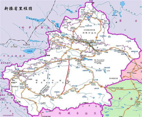 road map of china xinjiang china map