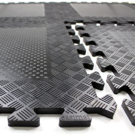 rubber interlocking gym mats
