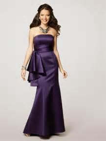 eggplant colored dress alfred angelo eggplant weddingbee