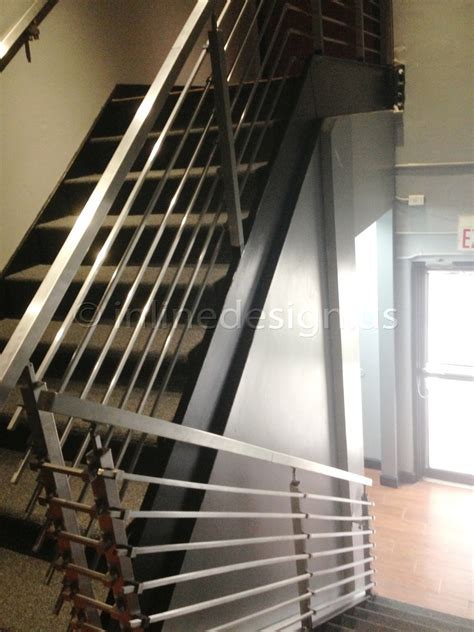 steel banister used stainless steel stair railing invisibleinkradio