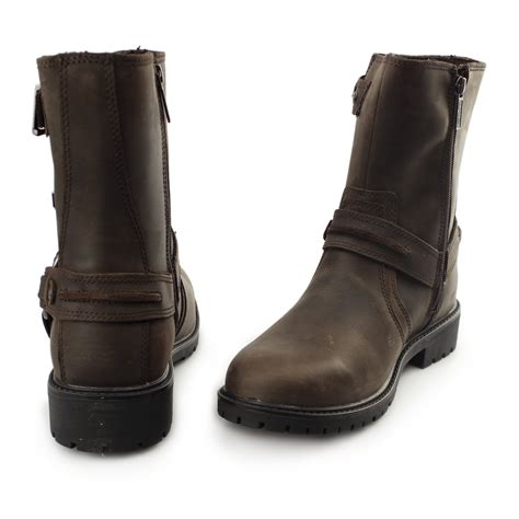brown moto boots brown leather motorcycle boots mens 28 images spada