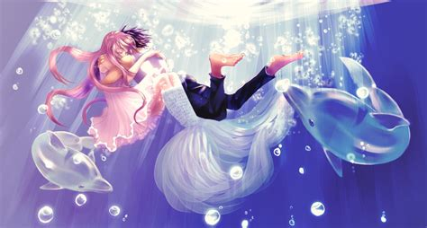 anime girl boy love hdwallpaperfx