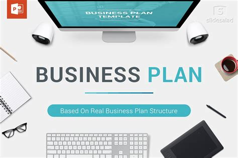 Business Plan Powerpoint Template Powerpoint Templates Creative Market Business Plan Ppt Free