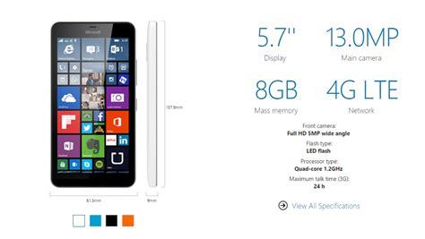 Hp Nokia Lumia Xl 640 lumia 640 xl spec 700px coolsmartphone